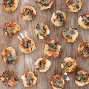Little Baby Pizza Bites and 3 Adult Pizzas