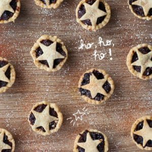 Baby Mince Pies – Refined Sugar Free