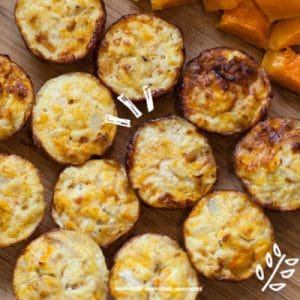 Butternut Squash and Goat Cheese Frittatas