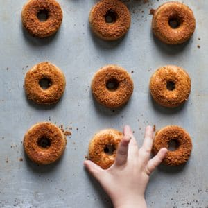 Super Healthy Baby Doughnuts
