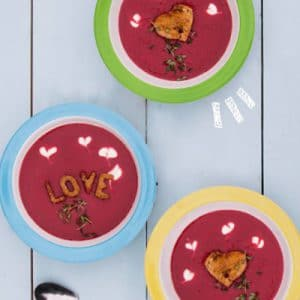 Beetroot and Ginger Love Soup