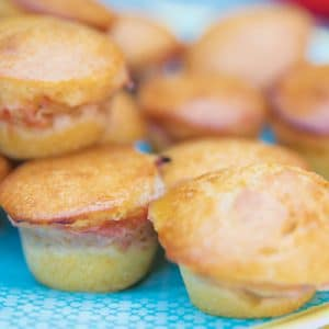 Rhubarb Baby Led Weaning Muffins