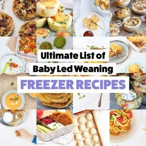 Freezer Tips: Baby Led Weaning