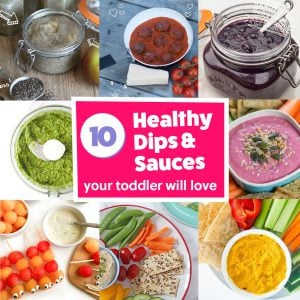10 Healthy Dips & Sauces Your Toddler Will Love