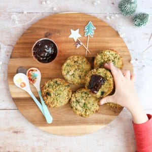 Baby Led Weaning Turkey Stuffing Muffins Christmas Dinner