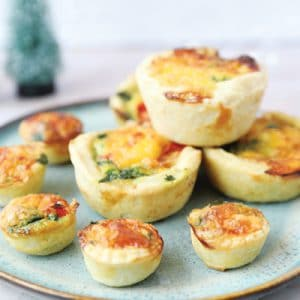 Mini Baby-Friendly Quiches - Baby Led Weaning Finger Food