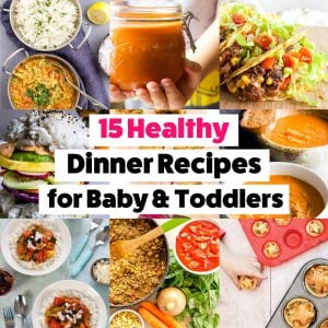 15 Healthy Dinner Recipes for Baby Led Weaning
