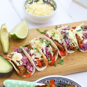Two-Bite Baby Friendly Tacos