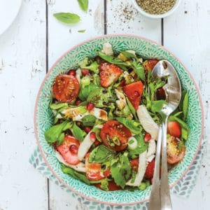 Baby-Friendly Chicken and Pomegranate Salad