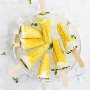 Mango and Passionfruit Cooling Ice Pops