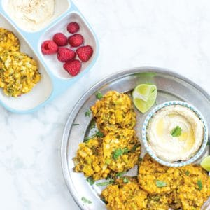 Broccoli and Cauliflower Egg-Free Fritters