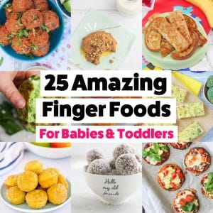 25 AMAZING Finger Foods for Babies and Toddlers