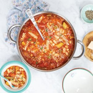Whatever is in your Kitchen Minestrone