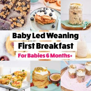 Baby Led Weaning Breakfast Ideas Babies 6 Months+