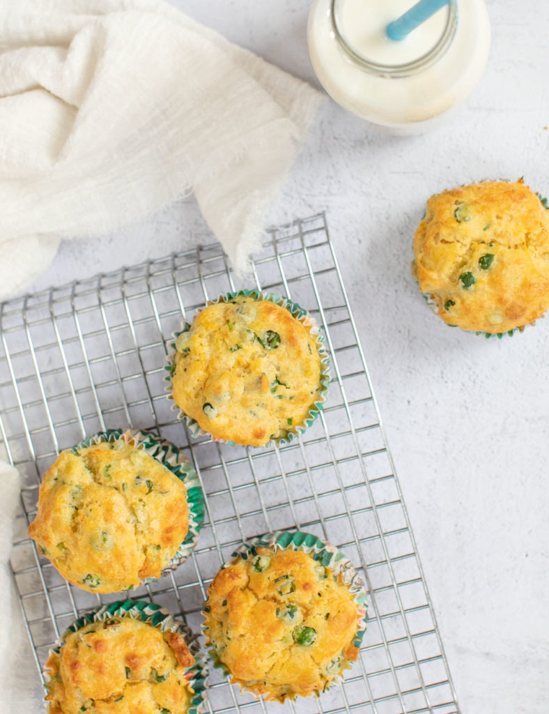 These vegetable savoury muffins are the perfect first food for baby led weaning.