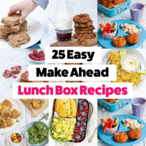 25 Easy Make Ahead Lunches